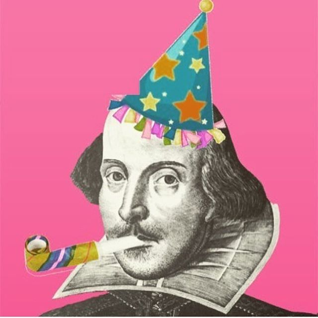Happy birthday to the man himself!! 445 never looked so good 😉 happy birthday William Shakespeare's!! Fun fact: it is also believed that Shakespeare died on this day as well 😱