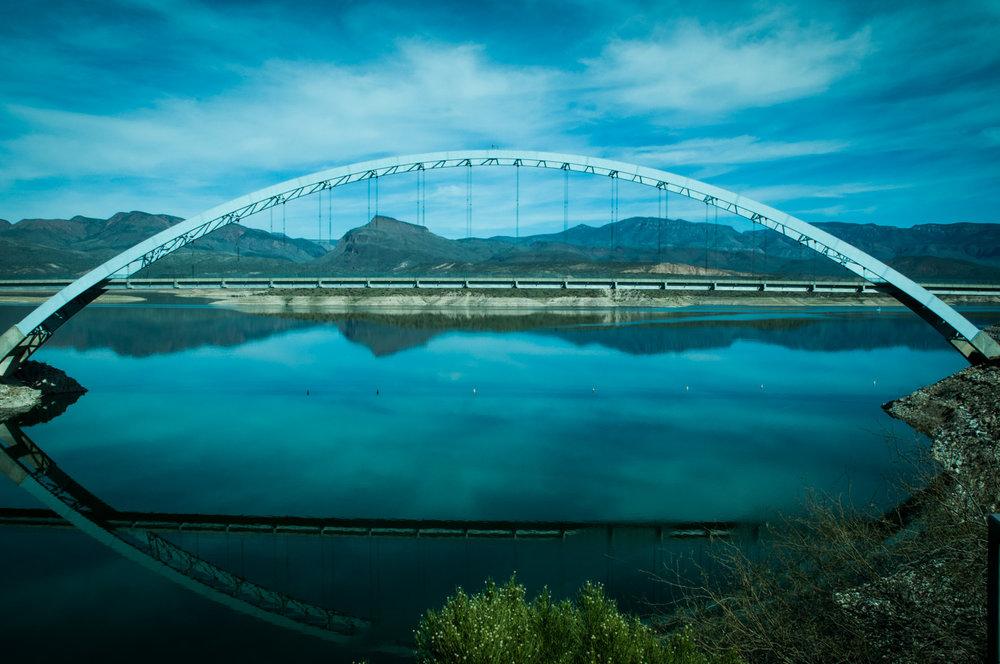 Roosevelt Bridge, AZ