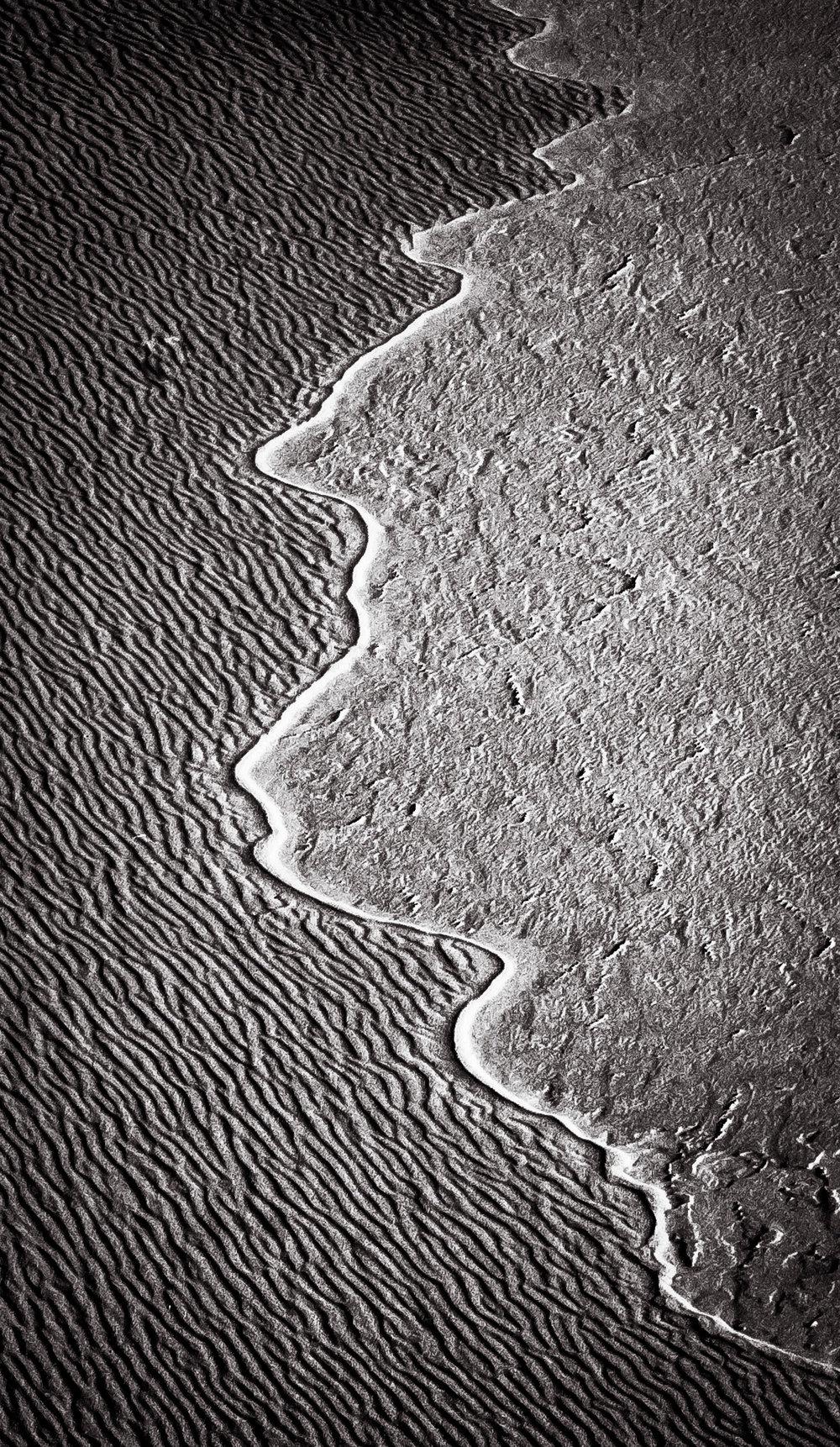 Dune Path   Eureka Dunes, Death Valley, CA