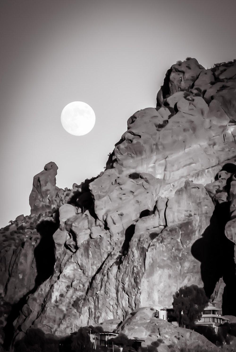 Moon Shine   Camelback Mtn., Phoenix, AZ
