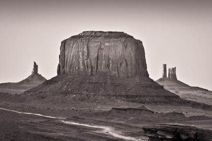 Road Runs Through It   Monument Valley, AZ