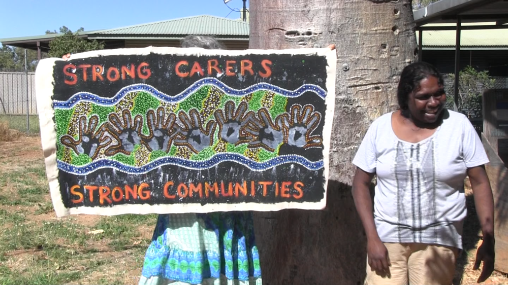 Still from  Keeping Looma Carers Strong