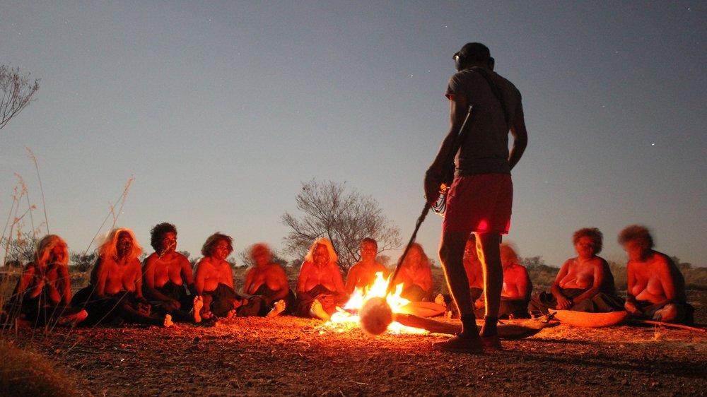 Production shot from  Tjawa Tjawa  (credit Clint Dixon)