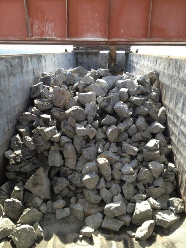 Norsk granit til stenrevene