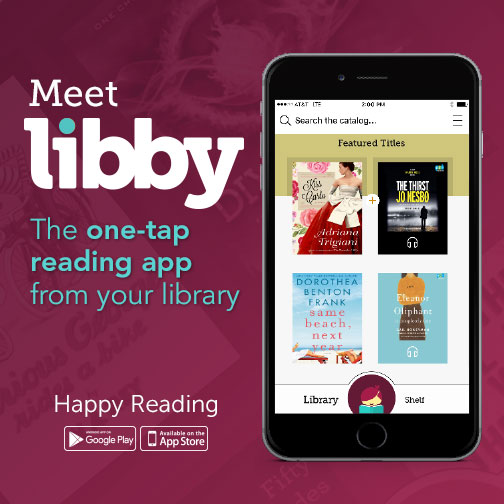 Use libby to access ebooks & downloadable audiobooks using your library card!