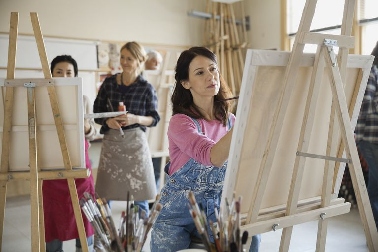 Adult art workshops -
