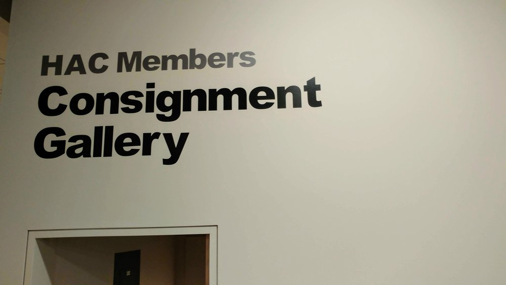 HAC Members consignment art Gallery - now open! - The Consignment Gallery is back!  Stop by to see our selection of artwork for sale by HAC Artist Members.