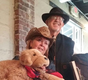 Jim and Natalee Ganyon - for more information about their puppetry, head over to   https://storiesandmore.me/
