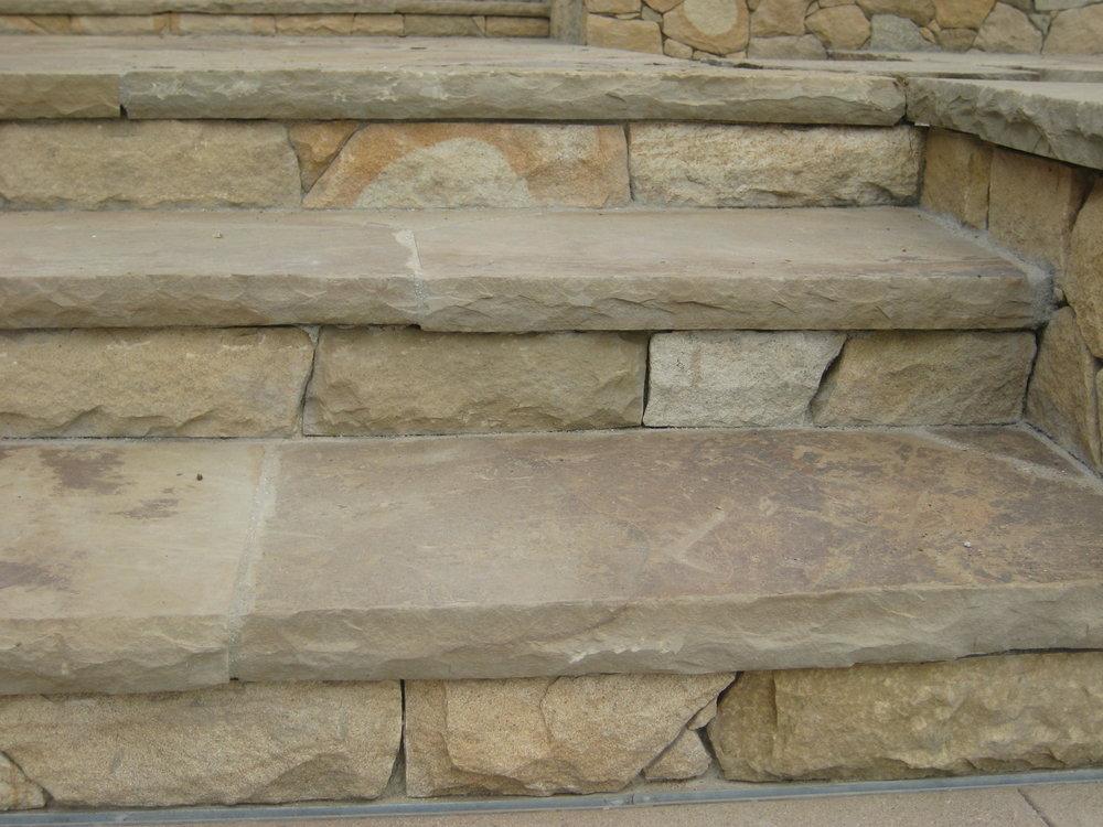 Ext stone tread & risers 2.JPG