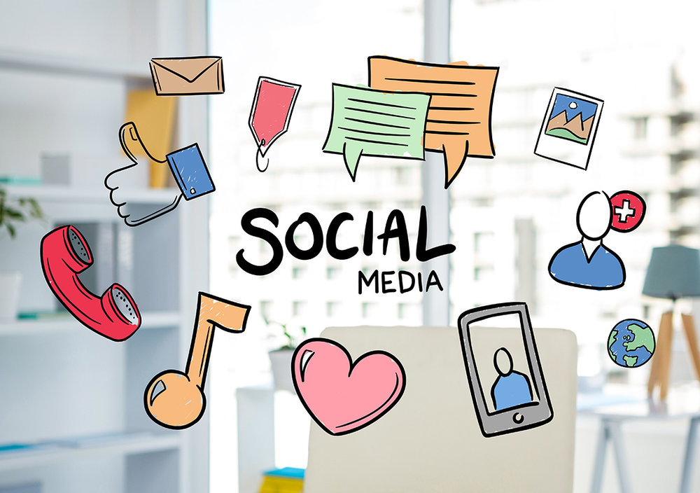 SOCIAL MEDIA - Build an interconnected community with your customer base, keep them informed and always up to date.