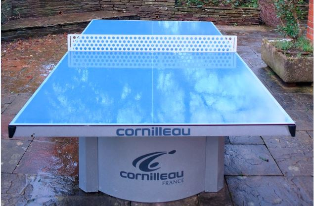 Top of the range outdoor table