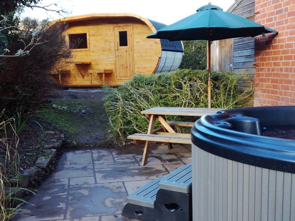 Sauna or Hot Tub?