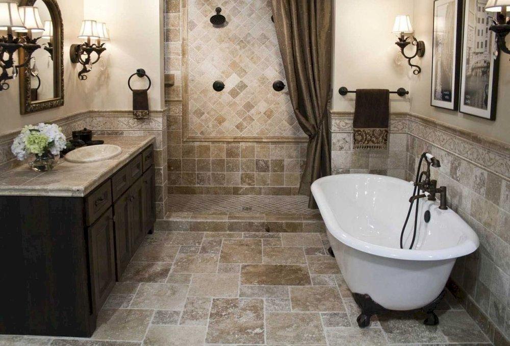 Traditional Turn Key Bathroom Remodel Idea Capital Construction Gorgeous Bathroom Remodeling Idea