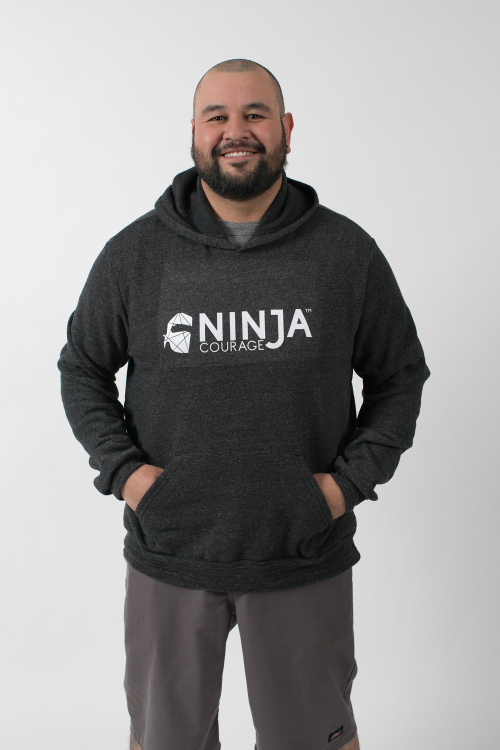 836ed857629 Ninja Courage Challenger Eco-Fleece Pullover Hoodie — Ninja Courage
