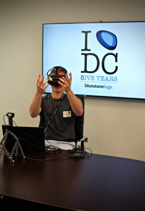 Occulus Rift in action.