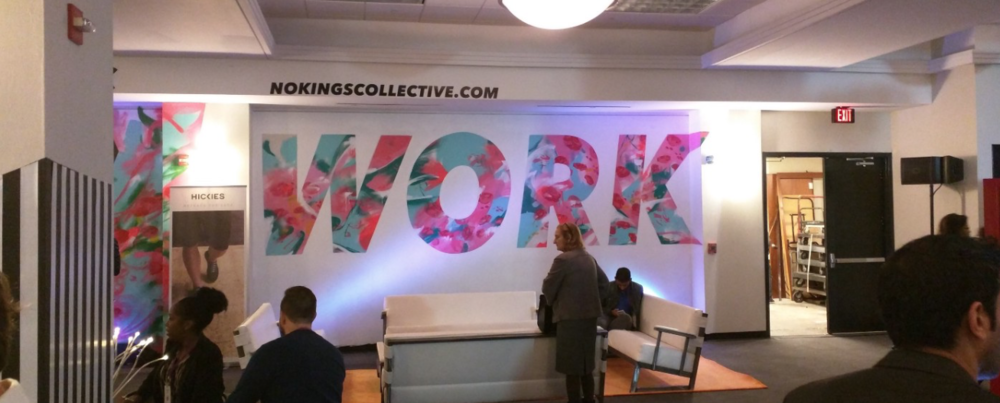 WaPo's Conference Center Lobby redesigned by No Kings Collective
