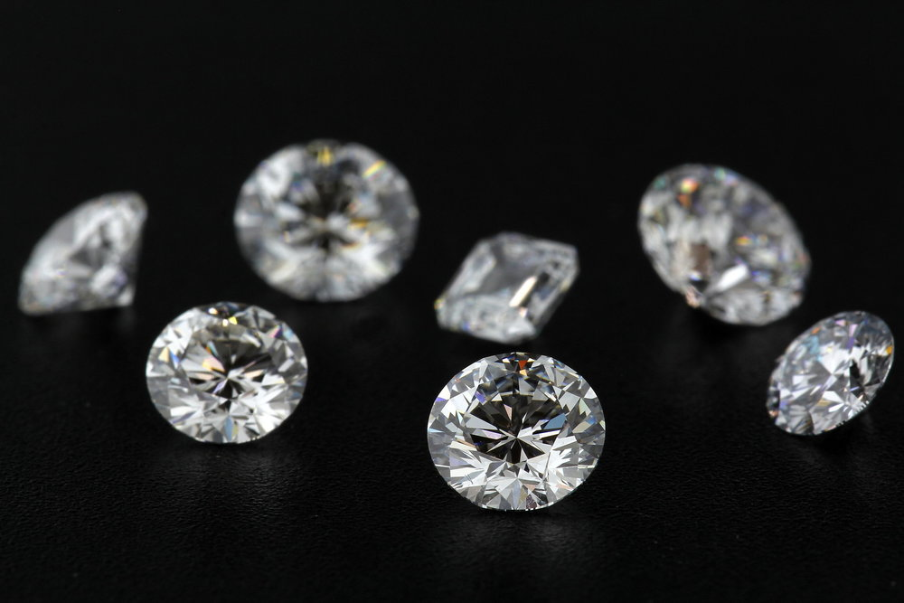 loose colorless lab grown diamonds