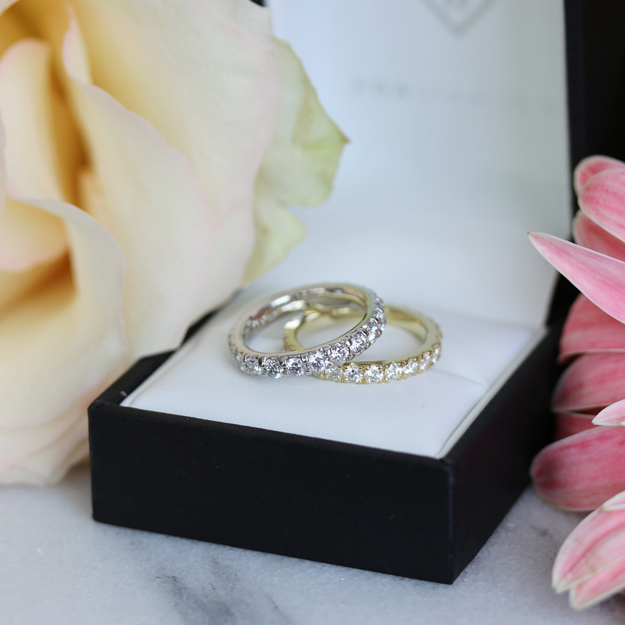 DIAMOND WEDDING BANDS   From simple to extravagant Starting at $1,500 USD