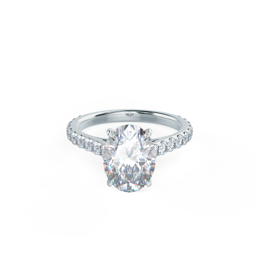 Diamond Engagement Bands Lab Created Diamonds