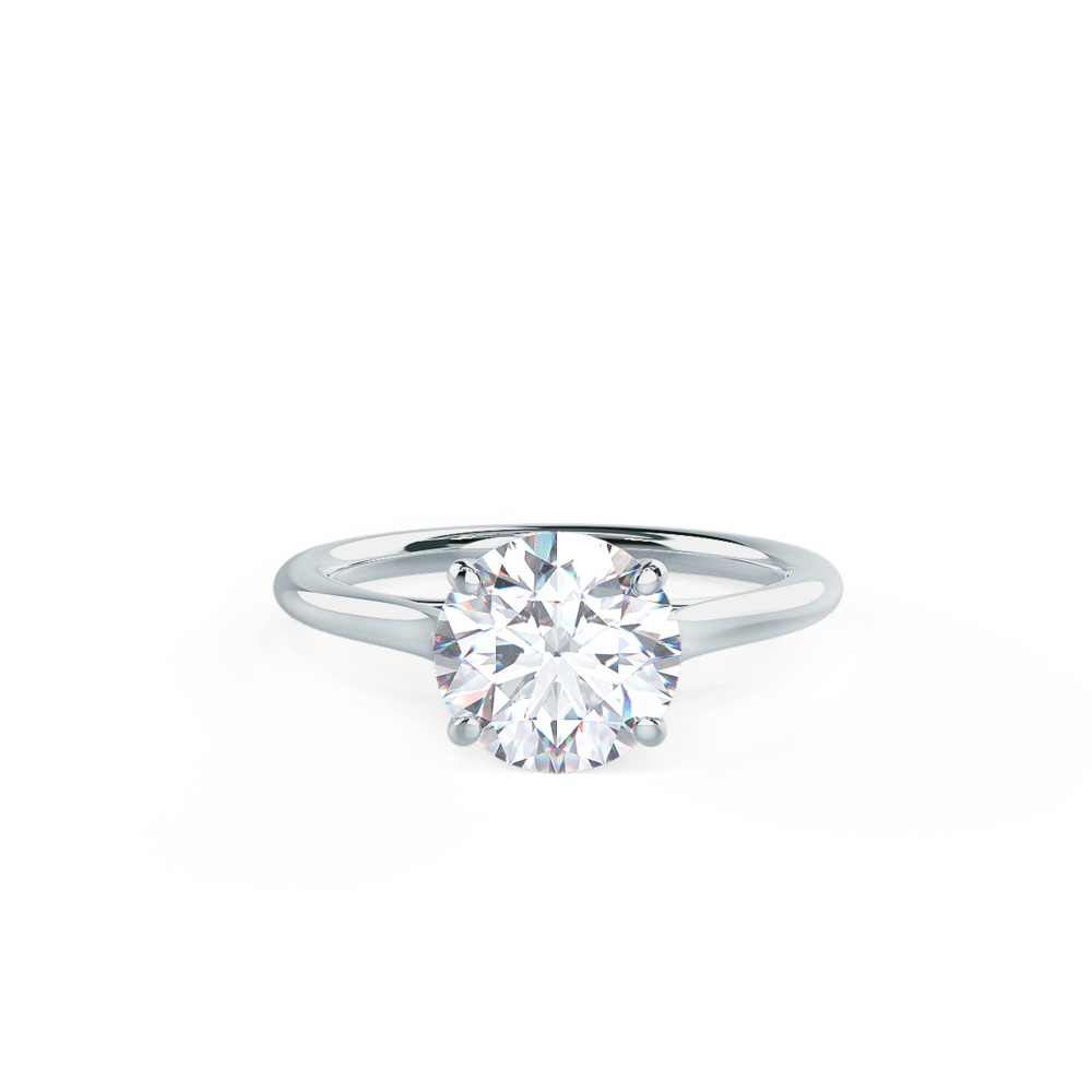 Classic Solitaire Lab Created Diamond Engagement Rings