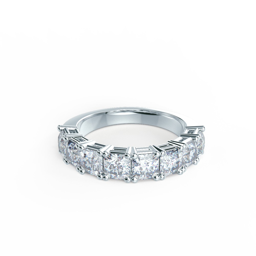 Half Eternity Bands Lab Created Diamond Wedding Rings