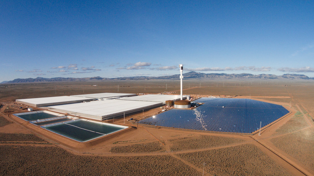 Solar Power Plant - Image Credit:  Mansouraboud68  /  CC-BY-SA-4.0
