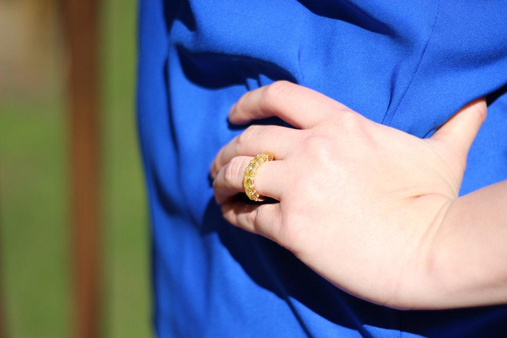Fancy pink lab diamond halo engagement ring