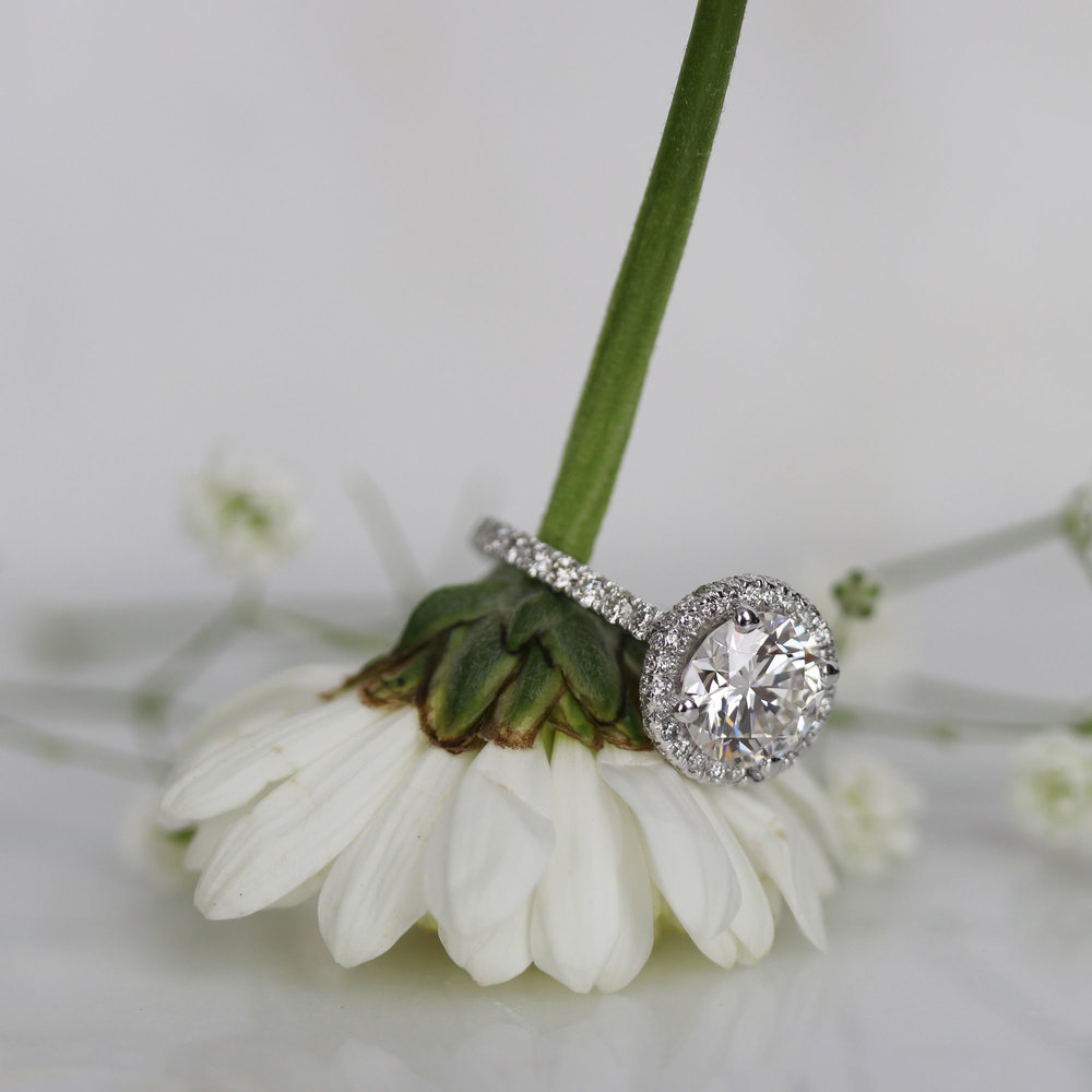 1.88ct Round in Platinum