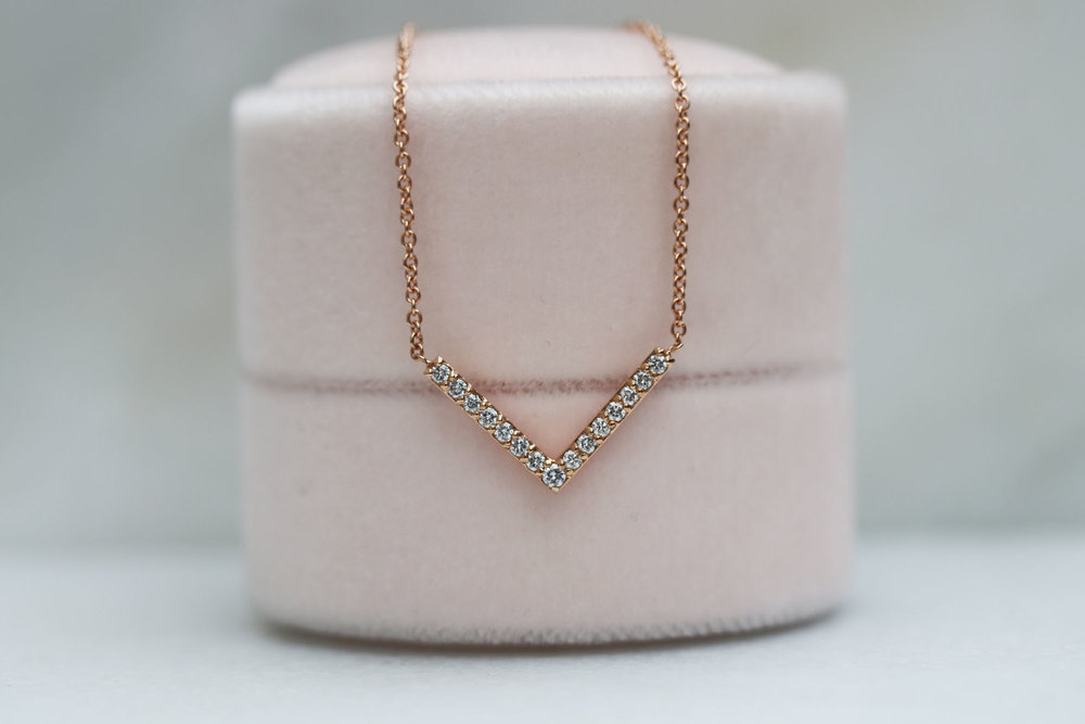 v necklace rose gold lab grown diamonds gift.jpg