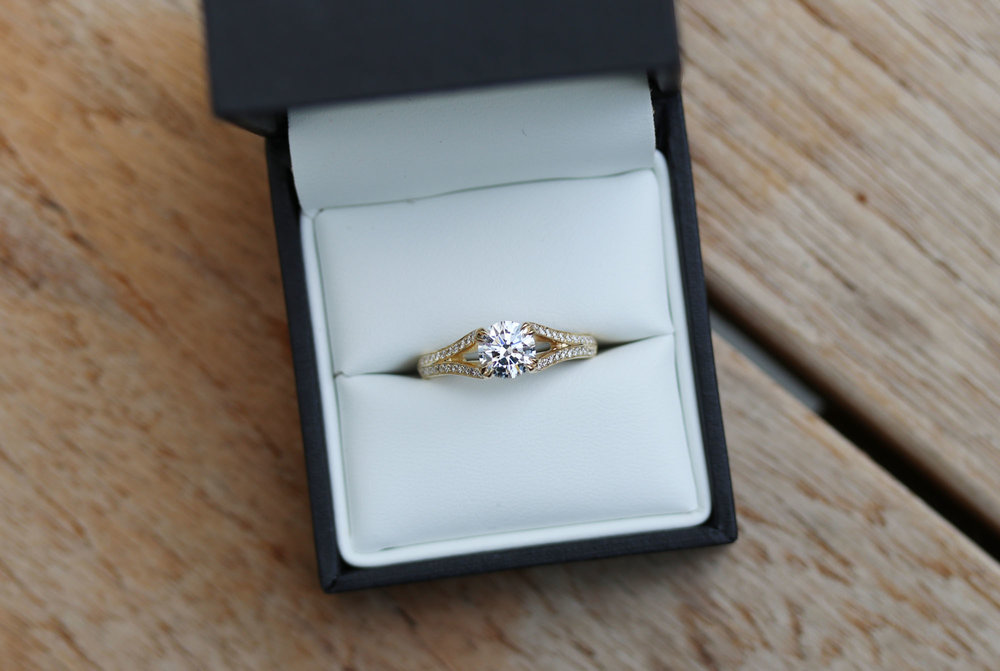 split shank yellow gold lab diamond engagement ring.jpg