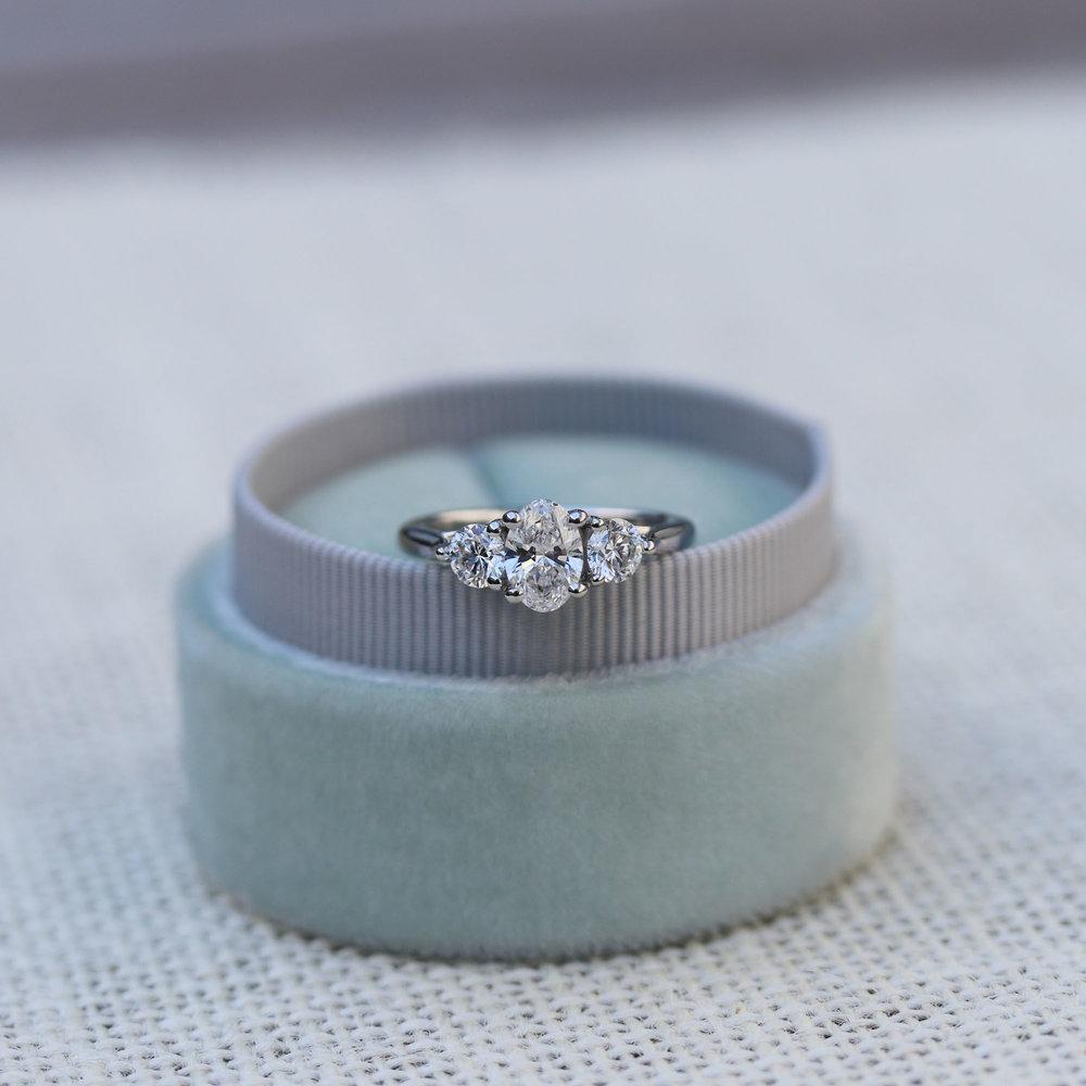 three stone engagement ring platinum lab grown diamonds.jpg