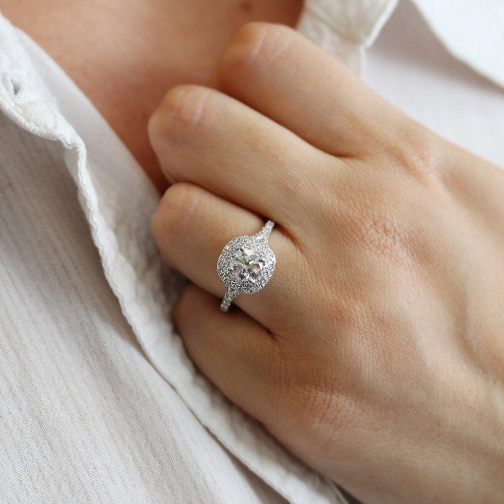 Halo Split Shank Lab Diamond Engagement Ring.jpg