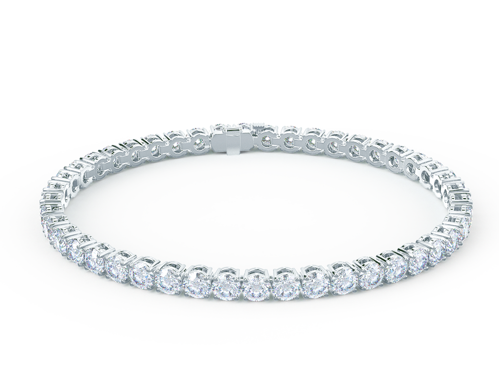5 carat lab diamond tennis bracelet