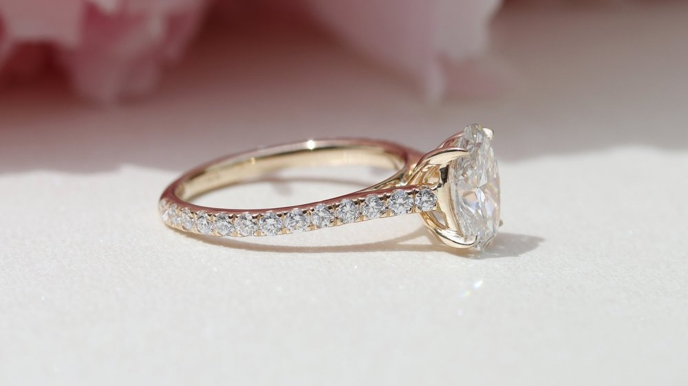 Upgrade Your Engagement Ring with Lab Created Diamonds