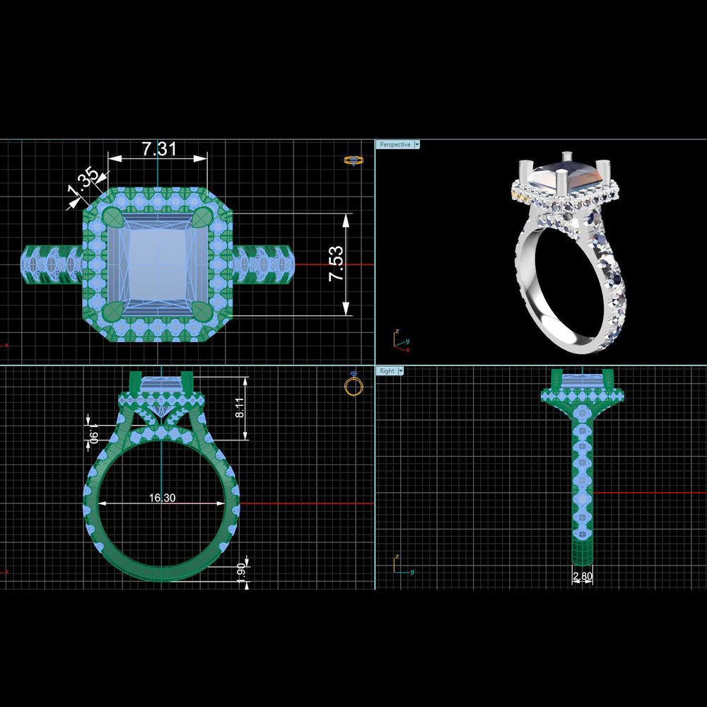 Custom Bespoke Lab Created Diamond Creation Process
