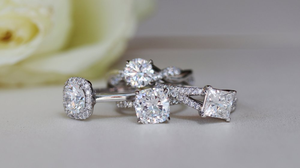 custom lab diamond engagement rings ada diamonds