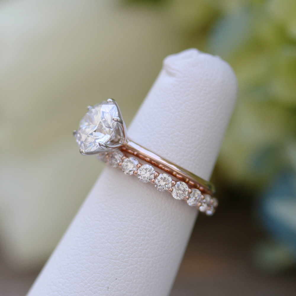 Classic Six Prong Solitaire -