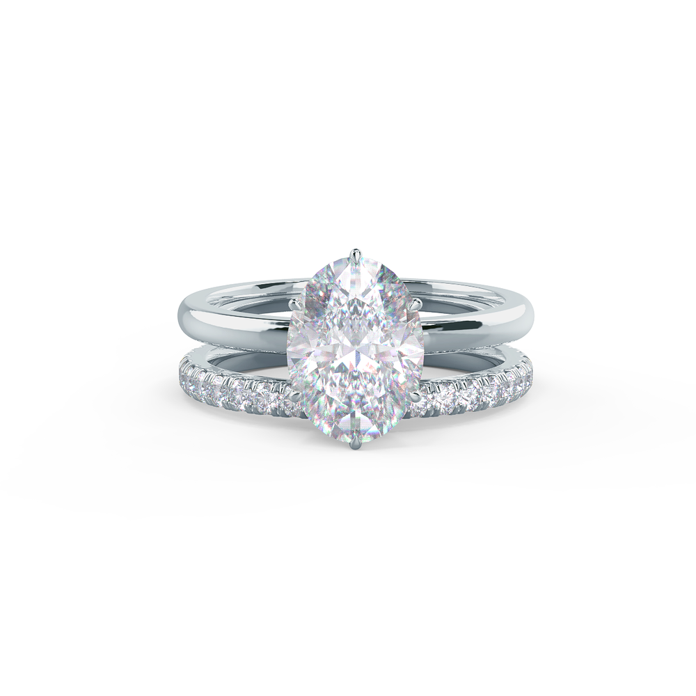 This setting can be designed with a nesting wedding band.     View Wedding Band Details