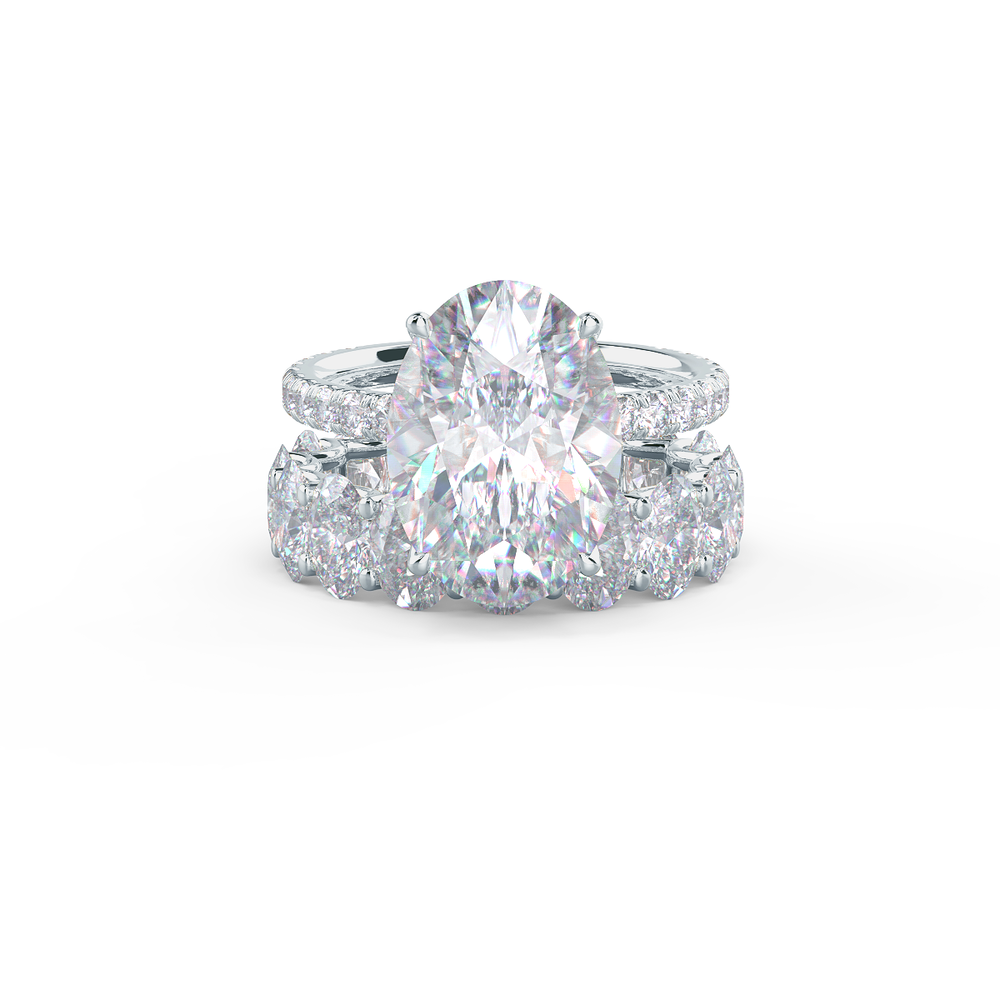 Pair your Oval Eternity Band with a One in a Million Rounded Ring    Shop Now