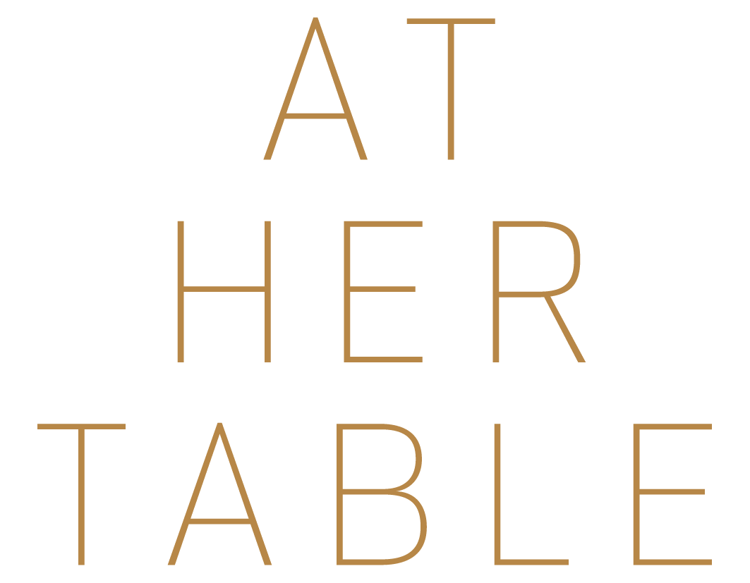 At Her Table