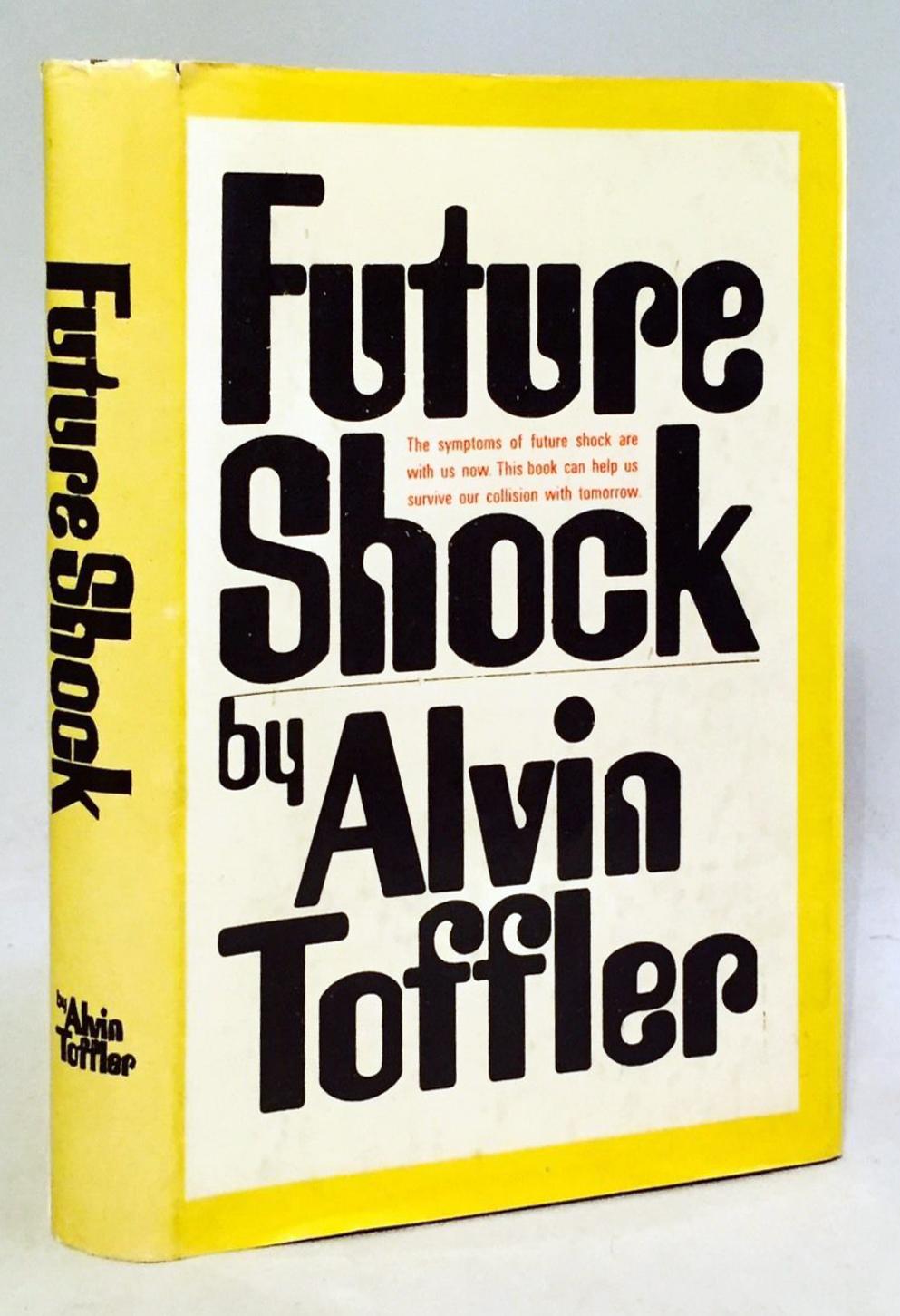 Above  Michelle's most recent read, Alvin Toffler's Future Shock