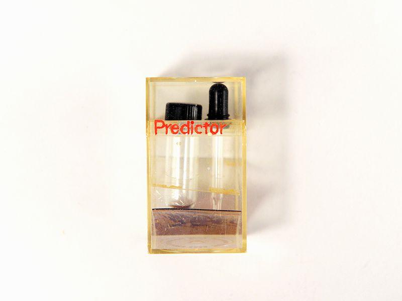 Above  The design for Margaret Crane's prototype home pregnancy test kit,  Photo:    Brendan McCabe