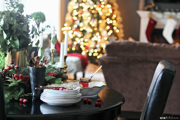A-Merry-and-Metallic-Christmas-Home-Tour-red-white-and-metallic-christmas-breakfast-table-and-family-room-and-fireplace-This-is-our-Bliss-Christmas-Home-Tour-2016.jpg