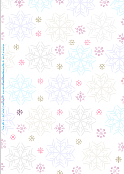 Conventional wisdom says that every snowflake is unique. Use this special snowflake page to celebrate diversity, explore unique strengths, or investigate frozen fractals.