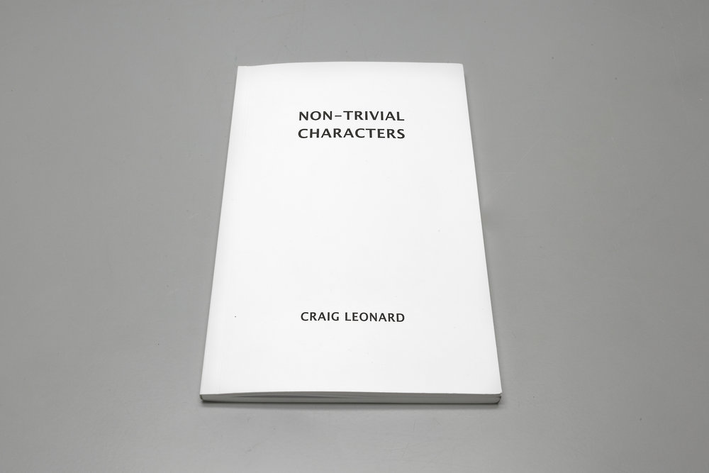 ED002: Craig Leonard - Non-Trivial Characters (Cover)
