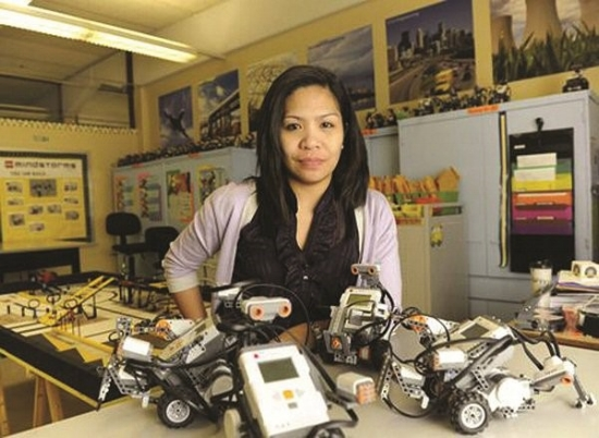 Teachers are our best resource when it comes to teaching classes like robotics.