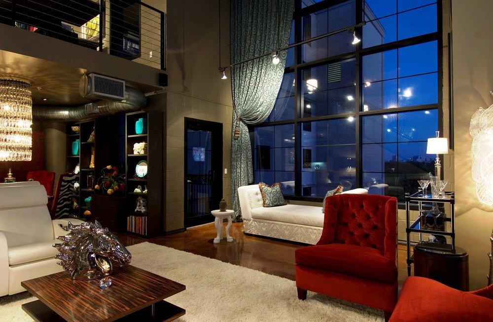 loft living ideas