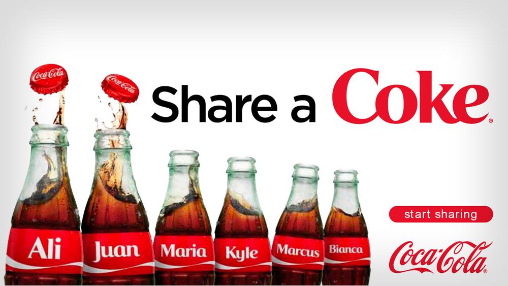 Share a Coke 1,000 Name Celebration