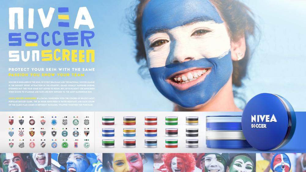 Nivea Soccer Sunscreen