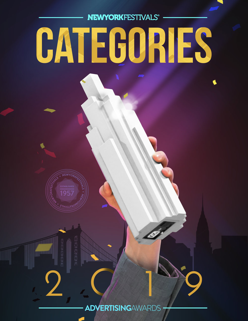 Find details about the categories within each of the 20 category groups, to select where your entry fits best. Most categories allow single or campaign entries, specific details and entry limits can be found with each competition in the document. -